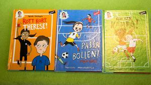 Jennifer Wegerup och Anja Gatu har skrivit om Therese Sjögran, Kosovare Asllani och Olivia Schoug.