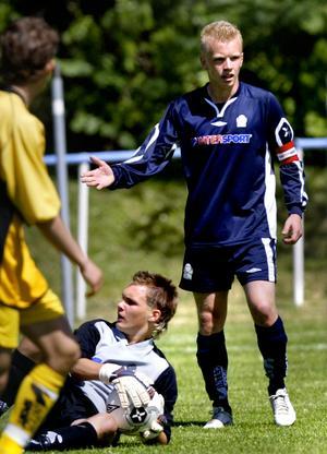 Jesper Florén i Örebros länslag sommaren 2006. Foto: Arkiv