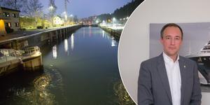 Joel Smith på Sjöfartsverket ber om ursäkt till Södertäljeborna för det försenade slussbygget.