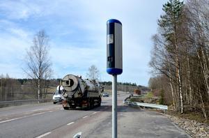 En man från Mora kommun har åtalats misstänkt för en fortkörning i Säters kommun. Han ska ha fångats på bild av en fartkamera. Obs: Bilden föreställer en annan fartkamera.
