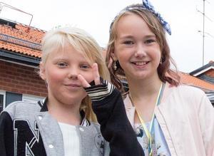 Maya Hedenström och Elsa Hjelm.
