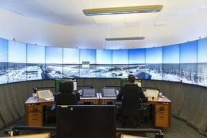 Exempel på flygledning på distans finns i dag i Sundsvall. Där blev Örnsköldsviks flygplats världens första flygplats med fjärrstyrd flygtrafikledning 2015 och Linköpings flygplats står på tur. Foto: Luftfartsverket