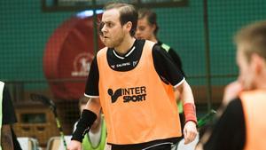 Fredrik Åhlberg skadade sig i sin första match mer Per-Ols.