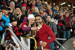 Saman Ghoddos är en favorit hos ÖFK:s fans.