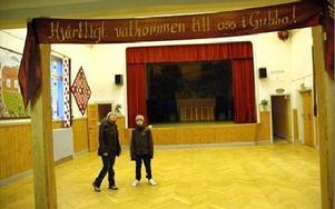 Folkets hus i Gubbo anordnar stödkonsert. Ingmarie Lerström hoppas byn ställer upp.Foto: Christer Nyman/Arkiv