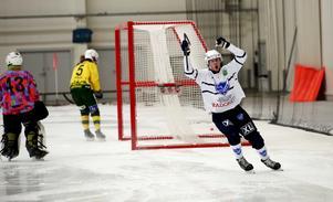Tim Stjernström satte tre mål mot Ljusdal. Har han precis gjort 4–2.
