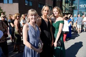 Wilma Boström, Johanna Linoff, och Lisa Holmgren.