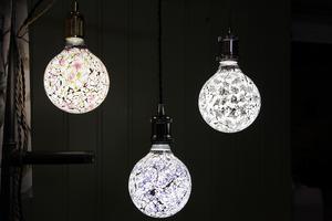 Lampor från  från Svegs möbler.