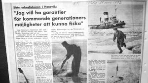 Fiskerinäringen var jättestor i Herräng under andra världskriget. 1942 levererades 186 ton strömming till Klarakvarteren i Stockholm.