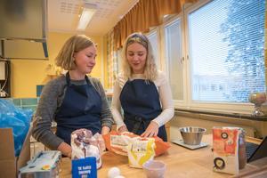 Jenny Trapp och Elin Henriksson.