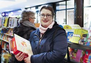 Stina Eriksson var på spaning efter bra barnböcker.