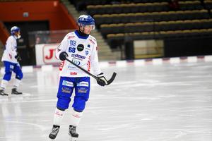Joakim Johansson har inte fått så mycket speltid sedan återkomsten till Vänersborg.