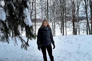 Här vill Katarina Hultqvist bygga bostadsrätter om två-tre år.
