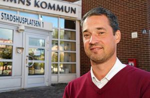 Daniel Adborn (L), kommunalråd i Nynäshamns kommun.