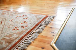 Det finns mycket fynd att göra på loppisar om man är ute efter mattor av bra kvalitet enligt Håkan.
