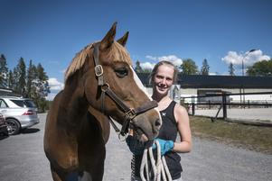 Torkan har även drabbat länets hästnäringen och länets hästägare. På Frösö Hästgård träffar LT Sofia Rödén och hennes häst Cool Jack.
