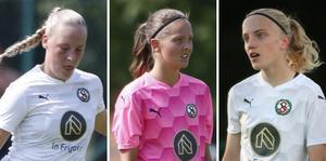 Ebba Cabander, Lisa Davidsson och Anna Sandberg är tre av minst sju spelare som lämnar ÖSK Damfotboll för Kif Örebro inför 2021.