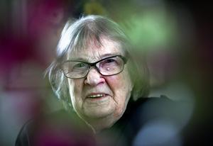 Den 10 oktober 2019 fyller Eva Andersson i Örebro 107 år. Foto: NA arkiv/Håkan Risberg