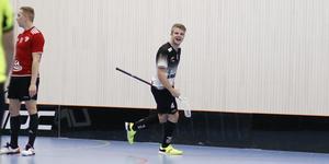Niklas Sohlberg har precis gjort 1-0 till IBK Sala.