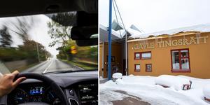 Nämndemannen körde både för fort och saknade körkort. Bild: TT/Catharina Hugosson