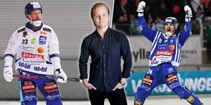 Johan Löfstedt och Martin Johansson saknas i Villa – naturligtvis. Bild: Jonna Igeland / TT