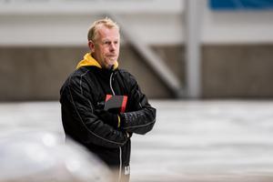 Lännart Nilzon, tränare i Ljusdals BK.