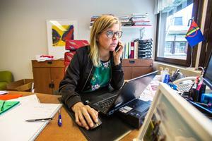 Therese Kärngard (S), kommunalråd i Bergs kommun, oroas över planerna på gruvdrift i Oviken.
