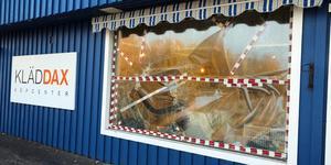 Inbrottet på Kläddax köpcenter är fortfarande olöst, men det finns goda förhoppningar om  att gärningsmännen kommer att avslöjas. Foto: Jonny Dahlgren