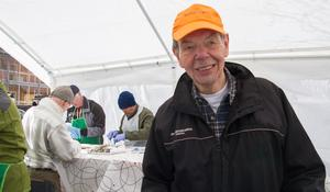Göran Glimsholt från Sturefiskarna var nöjd. Då hade ungefär halva tiden varit av Norsylingen passerat, som pågick på lördagen.