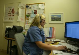 Kristina Brookes, distriktsläkare i Odensala.