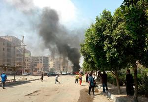 Kvinnor är utsatta i oroligt Egypten.Foto: AP