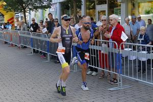 Löpbanan på årets Sala Silverman gick in till Stora Torget.