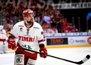 Dahlroth under avgörande matchen mot Karlskrona förra säsongen. Foto: TT.