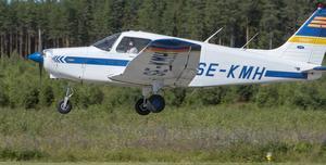 I somras arrangerades SM i precisionsflyg på Rörberg.