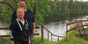 Lena och Andy Tschui förälskade sig i Dalarna Älvcamping vid första besöket för 2,5 år sedan.