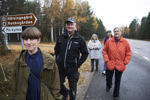 Karolina Pehrsson och Sven-Ulrich Dulle Ohlsson har gått i spetsen med att föra fram synpunkter till Trafikverket, med stöd från bland andra Kristina Norén, Björn Ersmar och Elisabeth Norén.