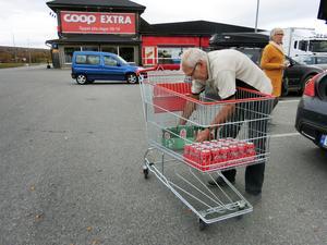 Gränshandeln och turister i länets butiker ses som möjliga förklaringar  till att handelsföretagen i Jämtland är mer positiva än i övriga Norrlandslän. Bilden från Storlien där nya stora handelsbyggen pågår.