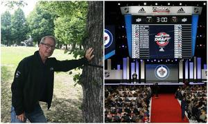 Inge Hammarström gör sin 35:e NHL-draft i rad. Men den i Dallas, Texas blir den sista som scout.