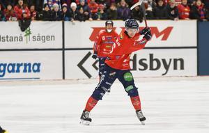 Oscar Wikblad visade att målformen håller i sig.