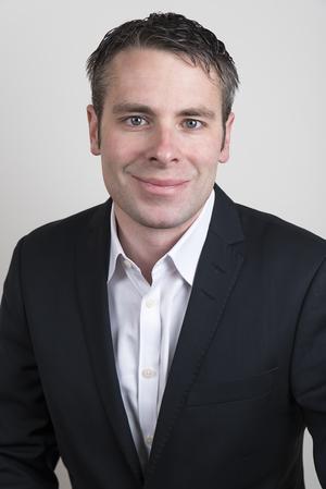 Foto: Svenska Handelsfastigheter.  Thomas Holm är vice vd för Svenska handelsfastigheter som äger fastigheter på E-center och som står bakom bygget av den nya butiken till Rusta.