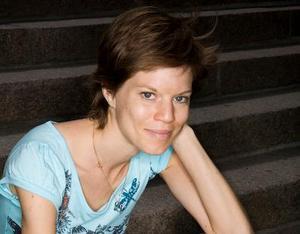 Pressbild.Årets kulturpristagare i Borlänge – Johanna Nilsson.