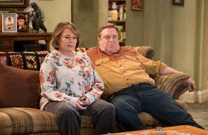 Roseanne Barr har fått kicken från sin ABC-serie. Bild: ABC/TT