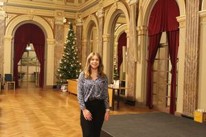Fanny Hammarberg, ordförande Moderata ungdomsförbundet Gävleborg.