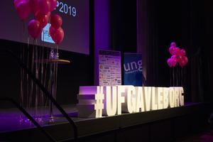 Kickoffen innehöll bland annat föreläsningar av Ulrika Heikkinen, som vunnit SM i UF, och Navid Modiri.