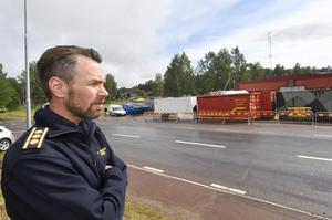 Peter Bäcke stf räddningschef.