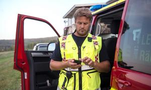 Räddningsledare Tony Åhlund.