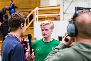 Jönköpings Södras mittfältsspelare Axel Lindahl ser inte ut att komma till spel i matchen mot Gefle på fredag.