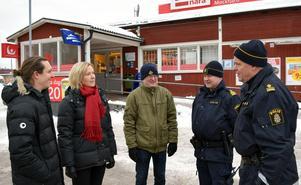 Under polisens första