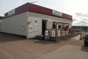 I gamla Skävemacken har det nu blivit nostalgibutik och café.