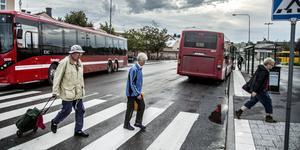 Om drygt fyra månader fattas beslutet som kan komma att gynna många av kommunens bussresenärer. Foto: Arkiv